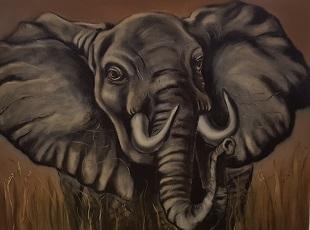 Malkurs-bob-Ross-Elefant