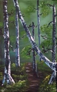 Bob-Ross-Birkenwald